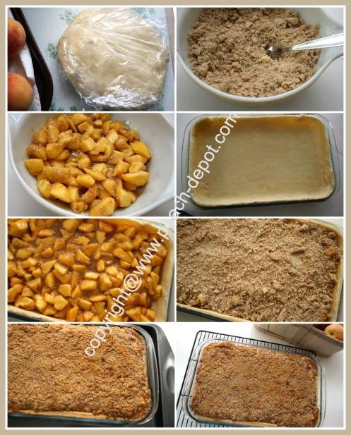 How to Make a Fresh Peach Pie Deep Dish Slab Pie in a 9 x 13 Dish