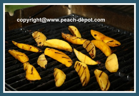 Mangos on the Grill / Barbeque