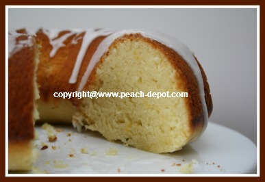Homemade Lemon Cake Recipe with Fresh Fruit