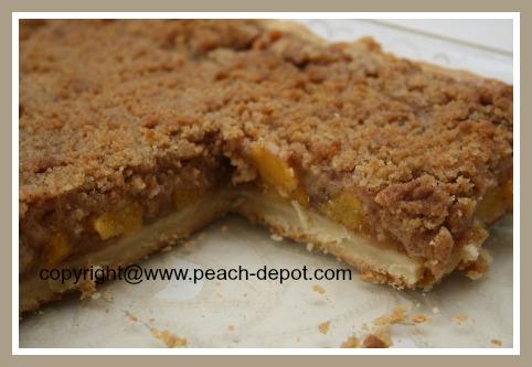 Peach Dessert Idea in a 9
