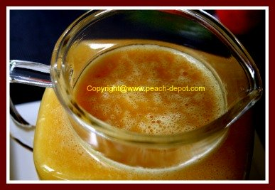 Peach Juice Recipe