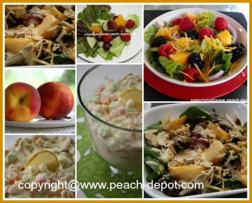 Easy Peach Salad Recipes to Make at Home